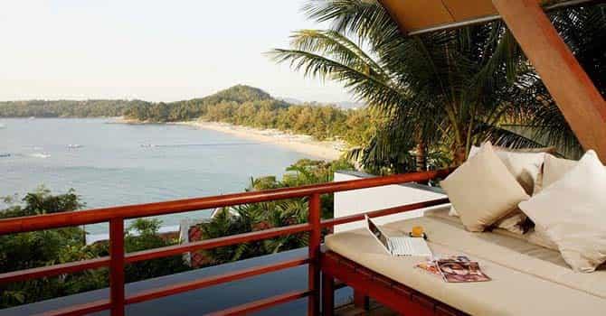 Baan Nicolina  Balcony View