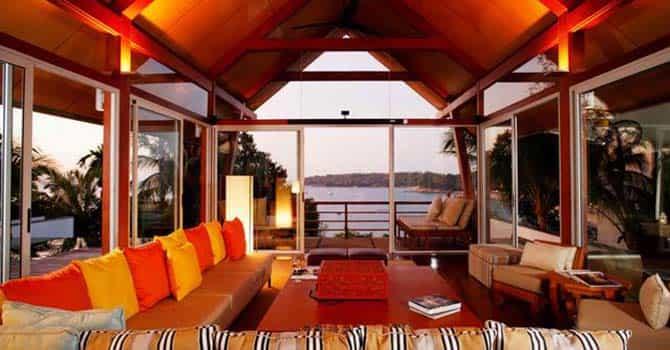Baan Nicolina  Living Room
