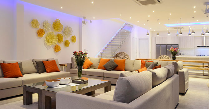 Villa Baan Amandhara  Living Room