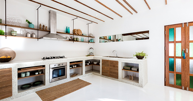 Kya Beach House  Kitchen