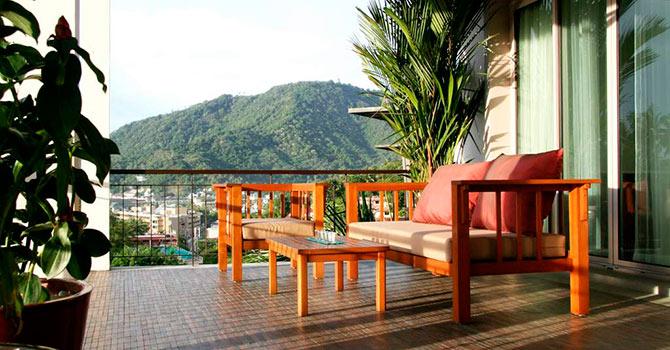 Kata Gardens Penthouse 4C  Balcony