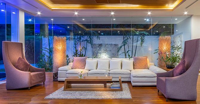 Villa Solaris  Lounge Room