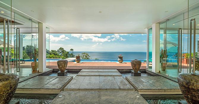 Villa Solaris  View from entrance