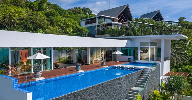 Villa Solaris  Main Swimming Pool