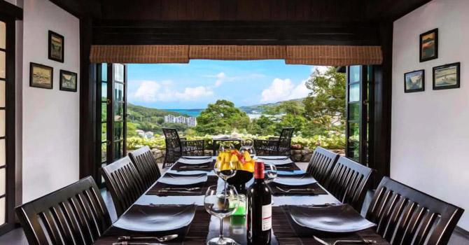 Villa Japonica  Dining area