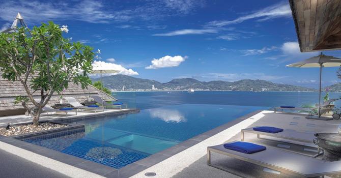 Villa Leelavadee  13 meter infinity-edge private pool