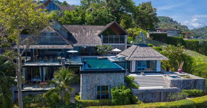 Villa Leelavadee  Aerial Shot