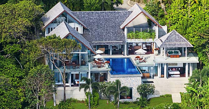 Villa Lomchoy  Aerial View