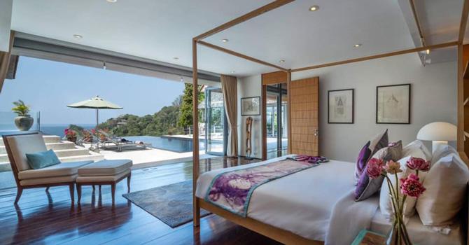Villa Lomchoy  Master Bedroom