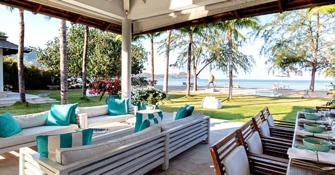 Villa Mia  Outdoor Dining Area