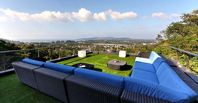 Villa Namaste  Outdoor Living area