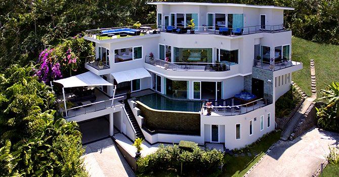 Villa Namaste  Aerial Shot