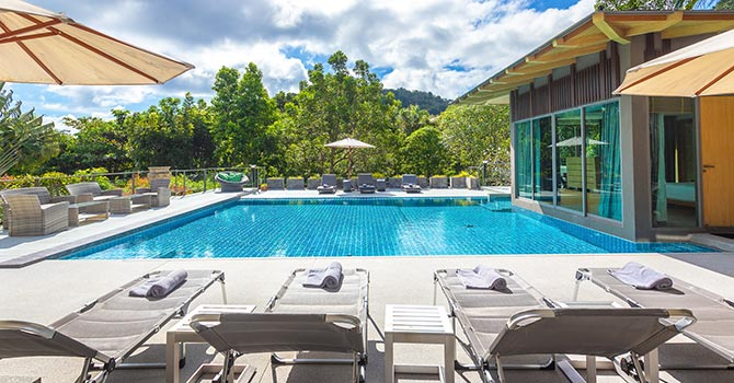 Villa Napalai  Lounge Area
