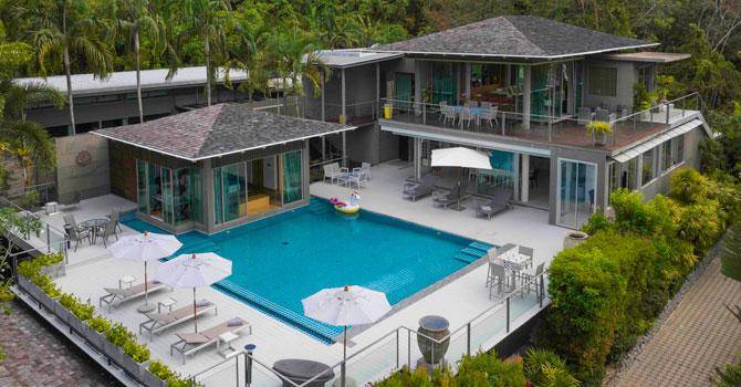 Villa Napalai  Aerial Shot