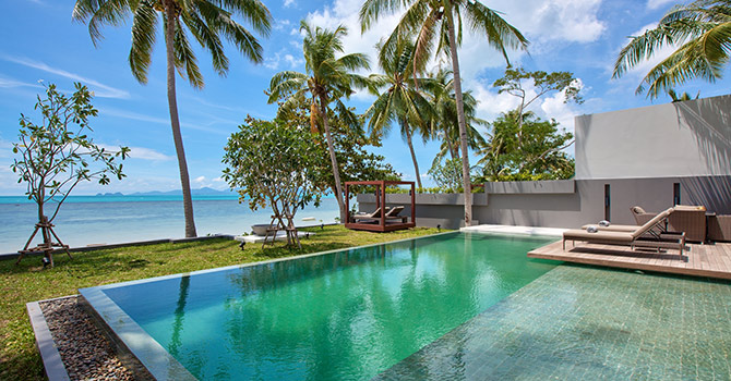 Villa Neung  Mineral Infinity Edge Pool