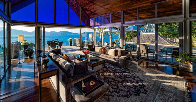 Villa Rom Trai  Living area