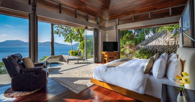 Villa Rom Trai  Master Bedroom