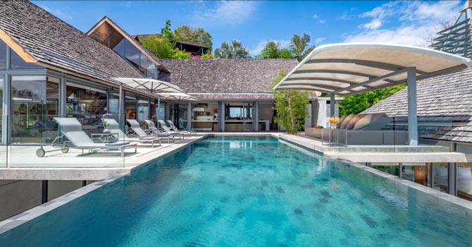 Villa Saengootsa  15 meter infinity-edge private pool