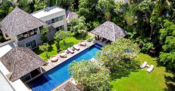 Villa Samakee  Aerial Photo