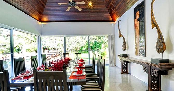 Villa Samakee  Dining Room