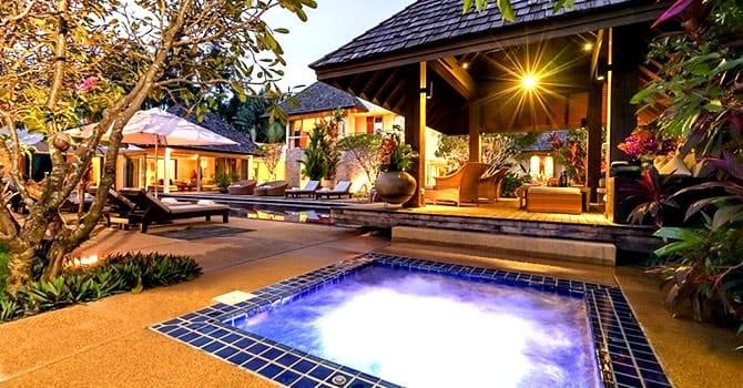 Villa Samakee  Jacuzzi