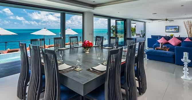 Villa Samayra  Dining