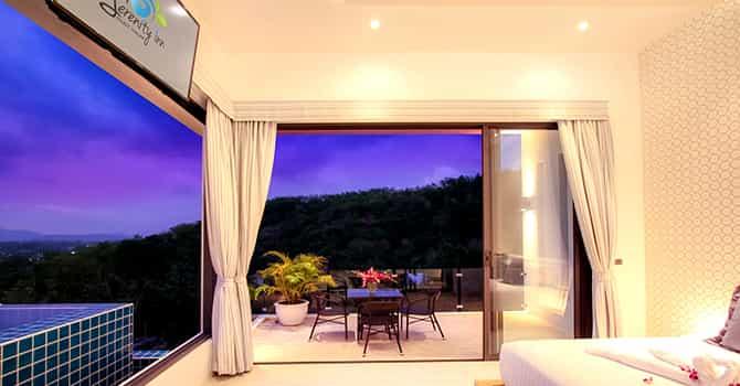 Villa Serenity  Master Bedroom 1