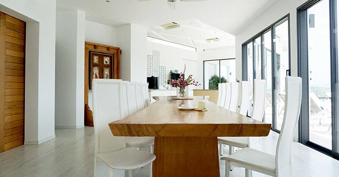 Villa Serenity  Dining Area