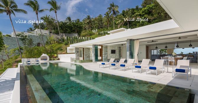 Villa Splash & Villa Spice  Villa Spice Swimming Pool