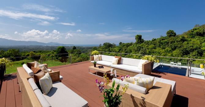 Villa Suriyan  Lounge Area