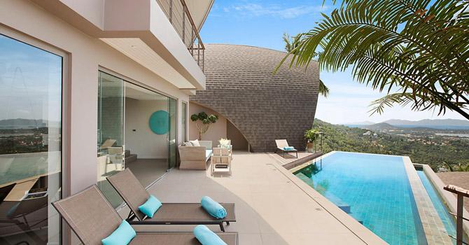 Villa Tao  Living area