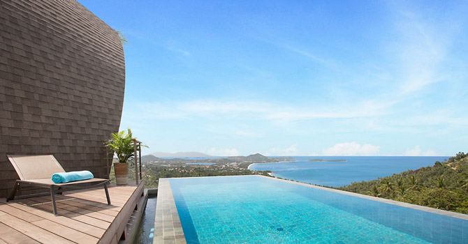 Villa Tao  Swimming Pool & Sea view