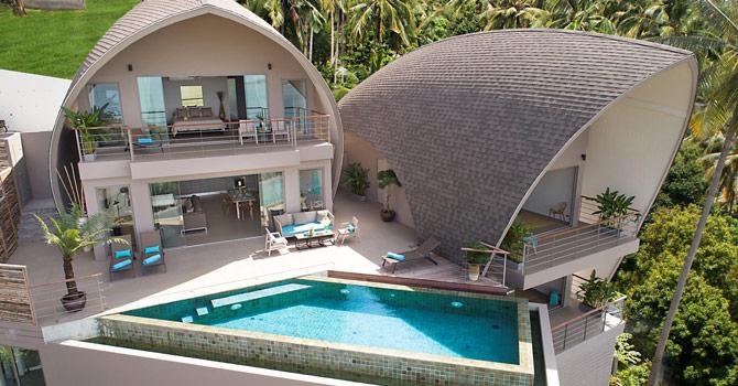 Villa Tao  Aerial Shot 2