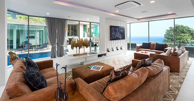 Villa Thousand Hills  Living Room