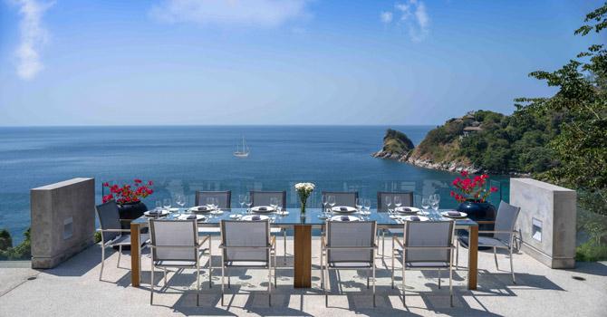 Villa Viman  Alfresco Dining