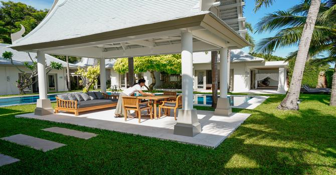 Villa Waterlily  Outdoor Sala