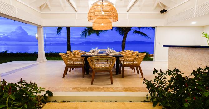 Villa Waterlily  Outdoor Dining