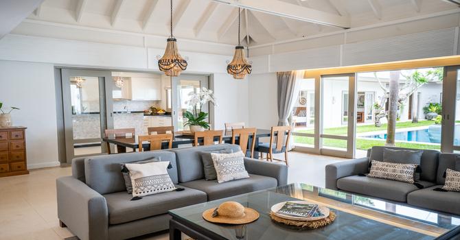 Villa Waterlily  Living Room