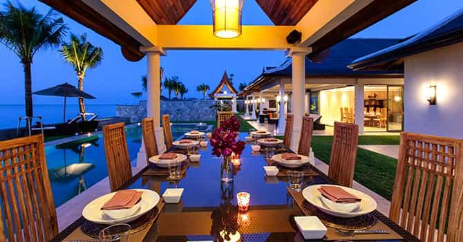 Villa Wayu  Alfresco Outdoor Dining Table