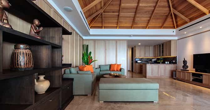 Villa Wayu  Living Room