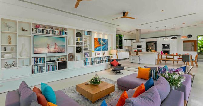 Villa White Skies  Living area 1