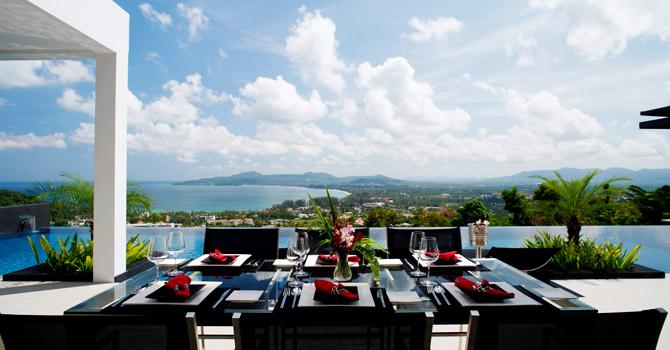 Villa Zamani  Outdoor Dining