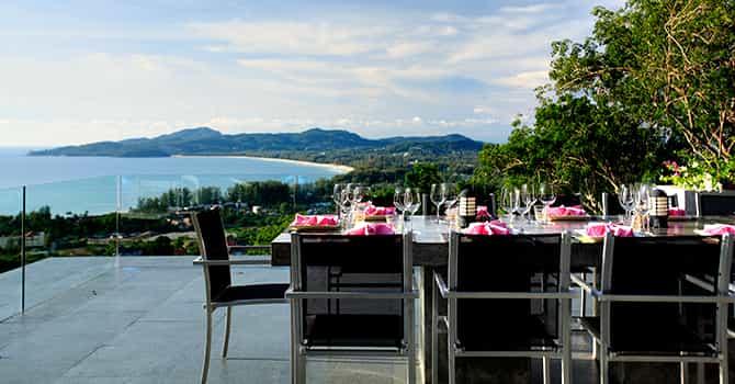 Villa Zavier  Rooftop Dining