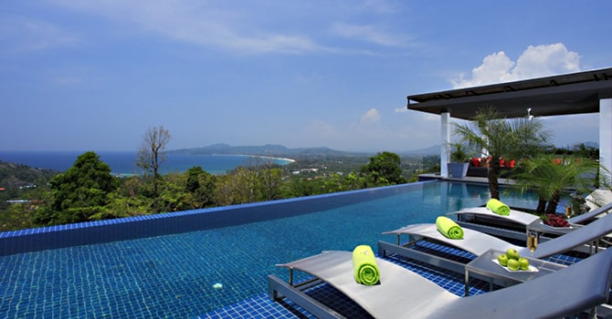 Villa Zereno  18m fresh water infinity pool