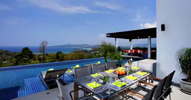Villa Zereno  Alfresco Dining