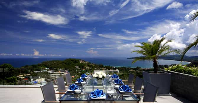 Villa Zereno  Rooftop Dining