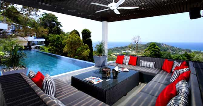 Villa Zereno  Lounge Sala