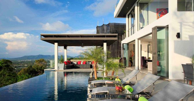 Villa Zereno  18m fresh water infinity pool